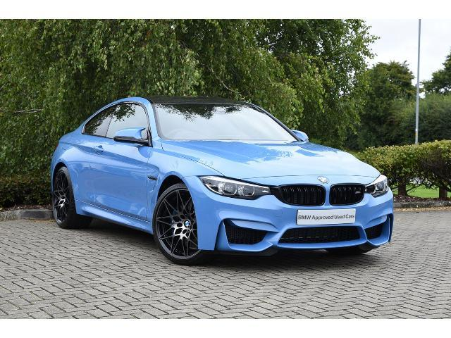 BMW M4 3.0 (s/s) Coupe Petrol Yas Marina Blue Metallic