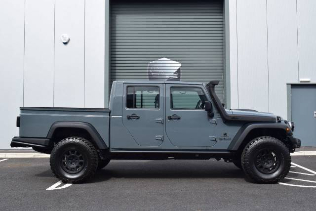 Jeep Wrangler 3.6 BLACK MOUNTAIN RUBICON DOUBLE CAB PICK UP Pick Up Petrol Grey