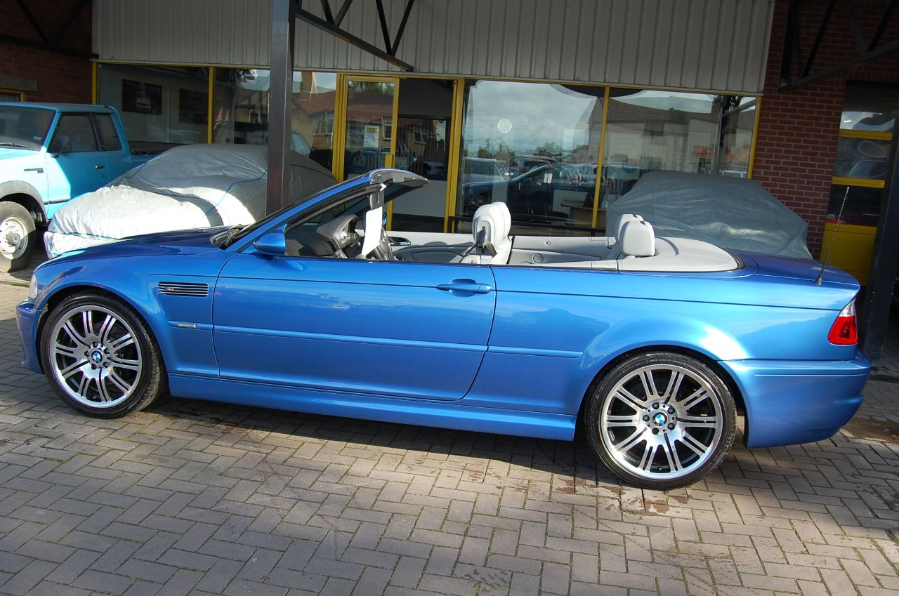 2006 BMW M3 BMW 3.2 INDIVIDUAL EDITION CONVERTIBLE, HUGE SPEC,LOW MILEAGE,WARRANTY INCLUDED
