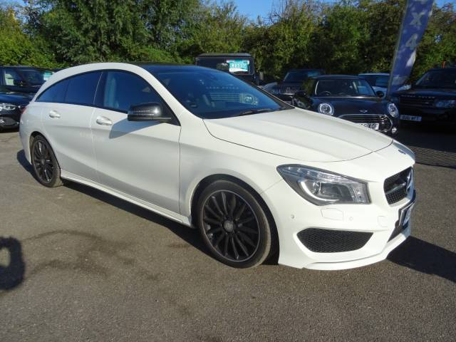 Mercedes-Benz Cla Class 2.1 Cla220 Cdi Amg Sport Estate Diesel White