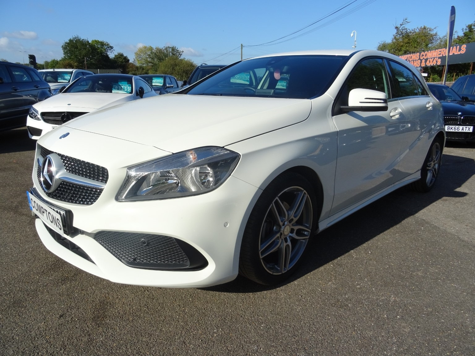 Mercedes-Benz A Class 1.5 A 180 D Amg Line Executive 5dr Hatchback Diesel White