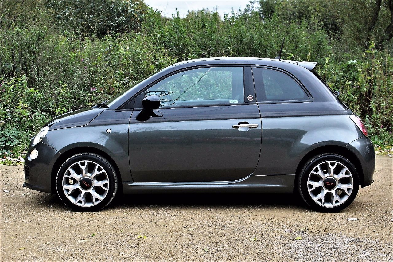 2013 Fiat 500 1.2 GQ 3dr, £30 TAX, DUAL BODY TONE