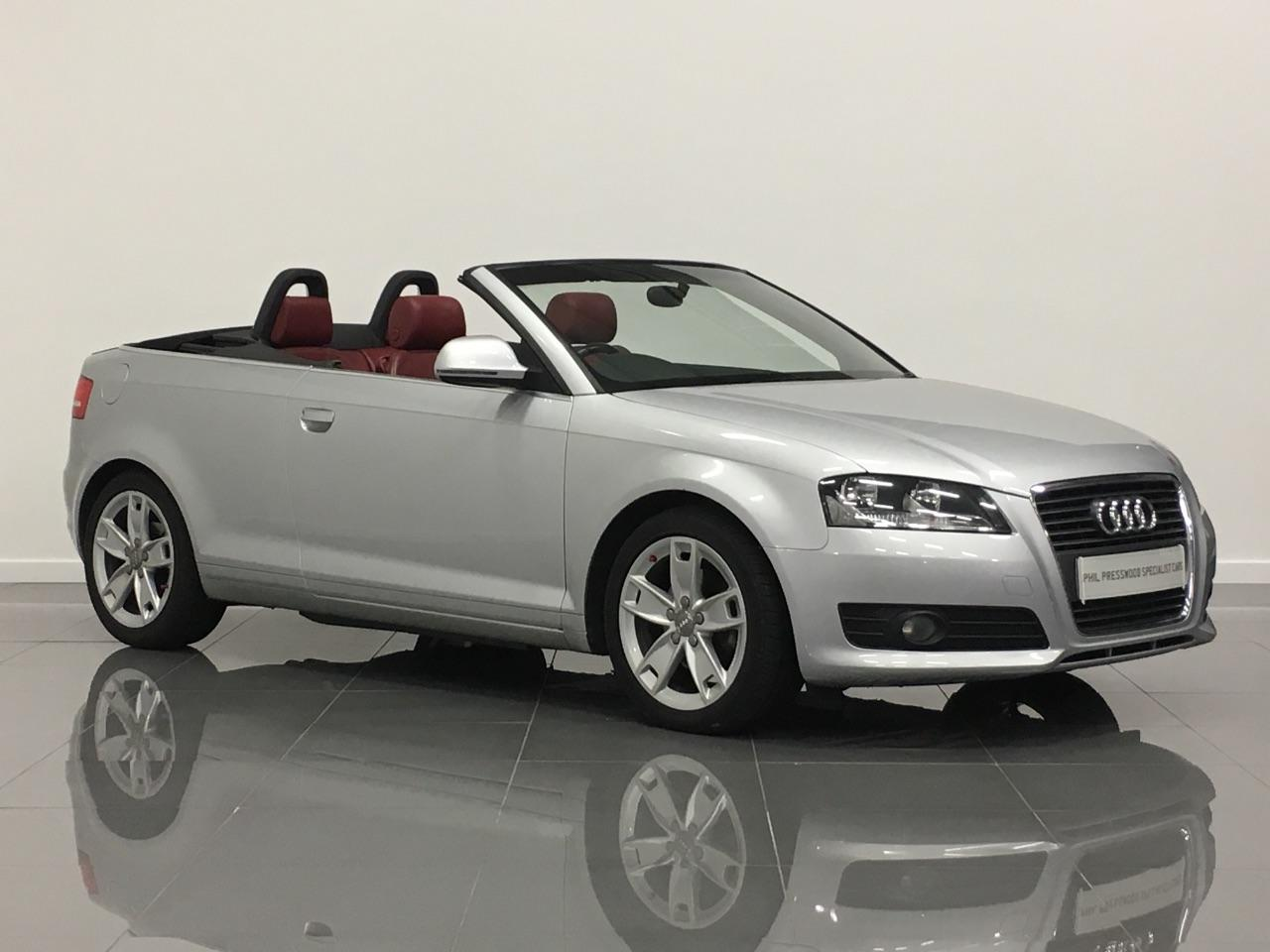 Audi A3 2.0 TDI Sport 2dr Convertible Diesel Silver