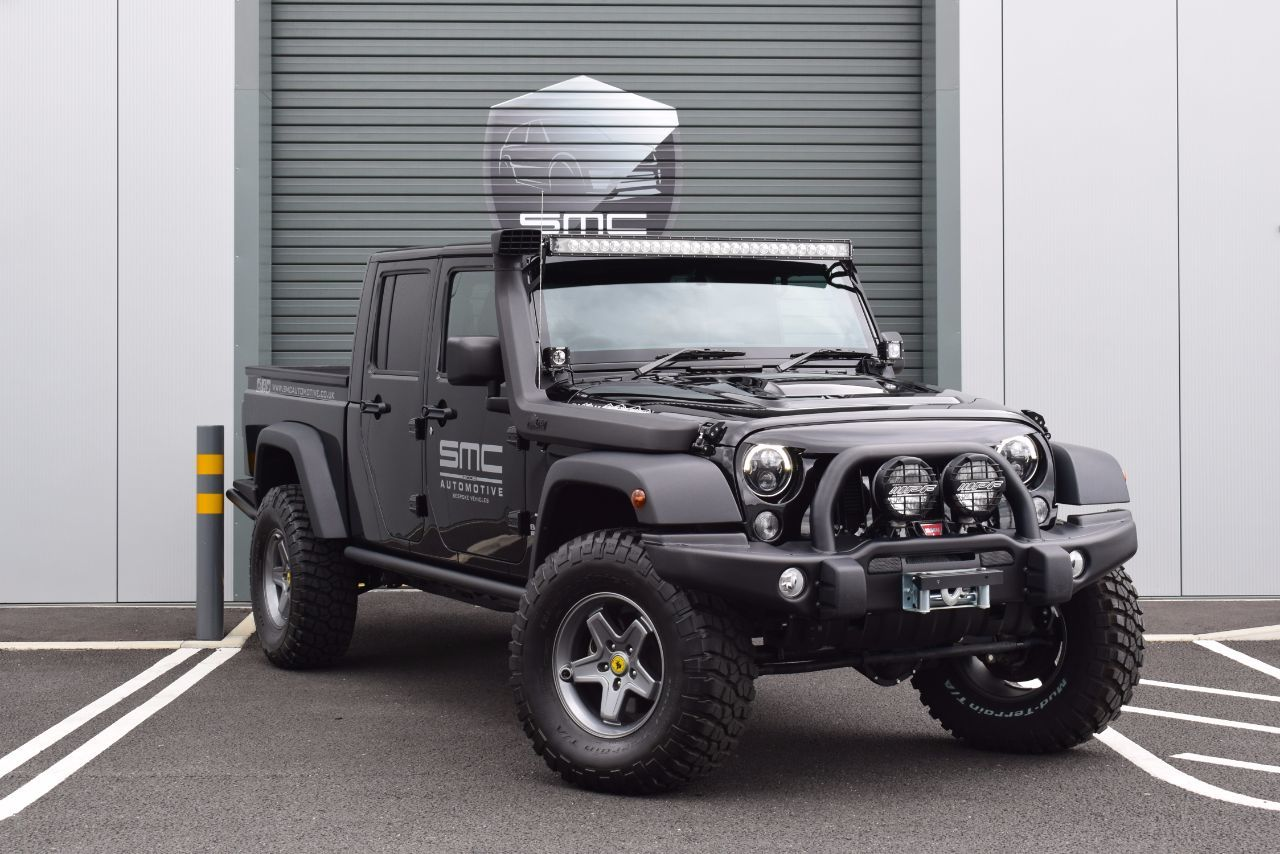 Jeep Wrangler 3.6 Black Mountain Rubicon Double cab pick up Pick Up Petrol Black