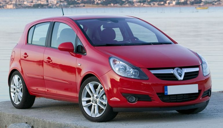 top 11 quick diesel hatches vauxhall corsa 1 7 cdti design 2007 plate. Black Bedroom Furniture Sets. Home Design Ideas
