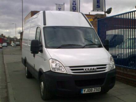 Iveco DAILY 35S12 3300WBASE NEW SHAPE 2.3 PANEL VAN Day Cab Diesel WHITE