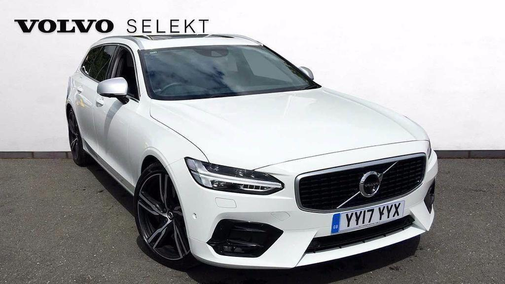 Volvo V90 2.0 D5 PowerPulse AWD R-Design Automatic  5dr Estate Diesel White