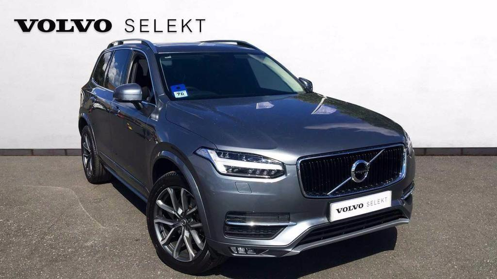 Volvo XC90 2.0 D5 PowerPulse AWD Momentum Automatic  5dr Estate Diesel Grey