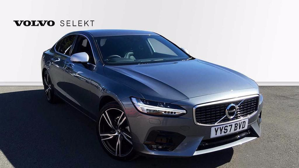 Volvo S90 2.0 D4 R-Design Pro Automatic  4dr Saloon Diesel Grey