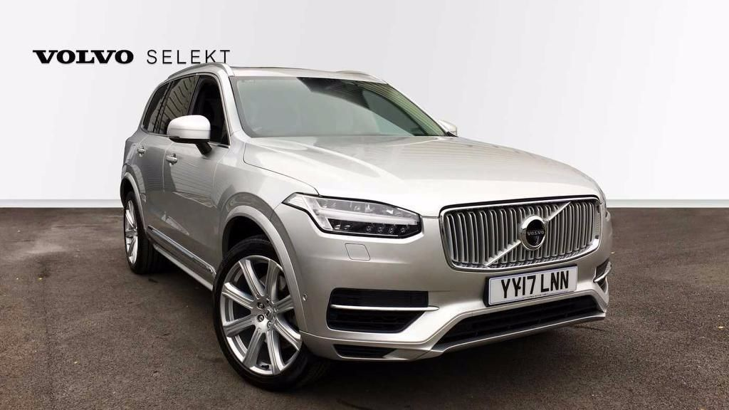 Volvo XC90 2.0 T8 Twin Engine Inscription Automatic  5dr Estate Hybrid Silver