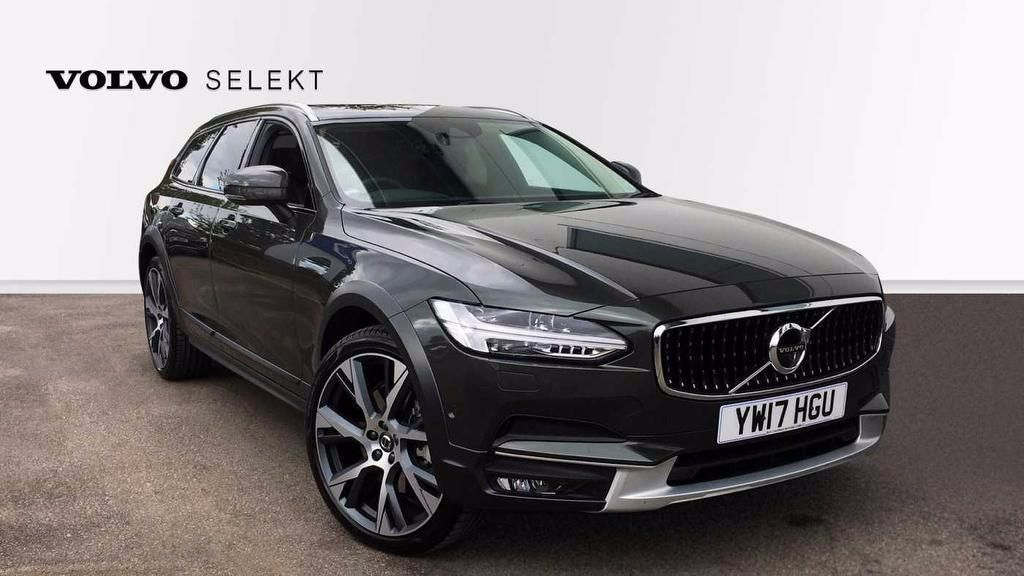 Volvo V90 2.0 D5 PowerPulse AWD Cross Country Automatic Pro  5dr Estate Diesel Grey