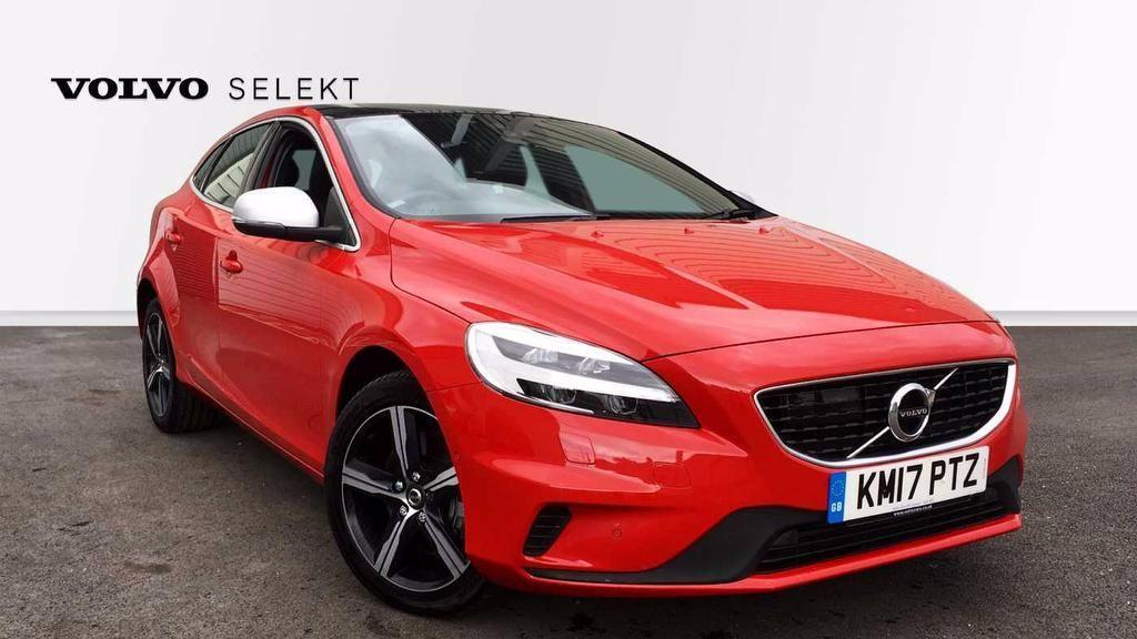 Volvo V40 2.0 D4 R-Design Manual  5dr Hatchback Diesel Red
