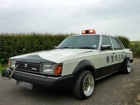 1982 Toyota Chaser Japanese police car