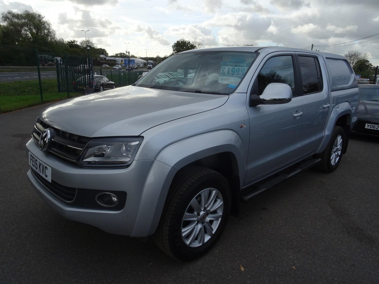 Volkswagen Amarok Dc 2.0 TDi Highline 4motion Pick-up Diesel Silver