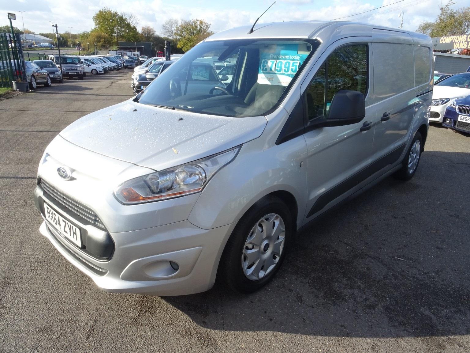 Ford Transit Connect 210  L2 Trend Pv 1.6 tdi air con Van Diesel Silver