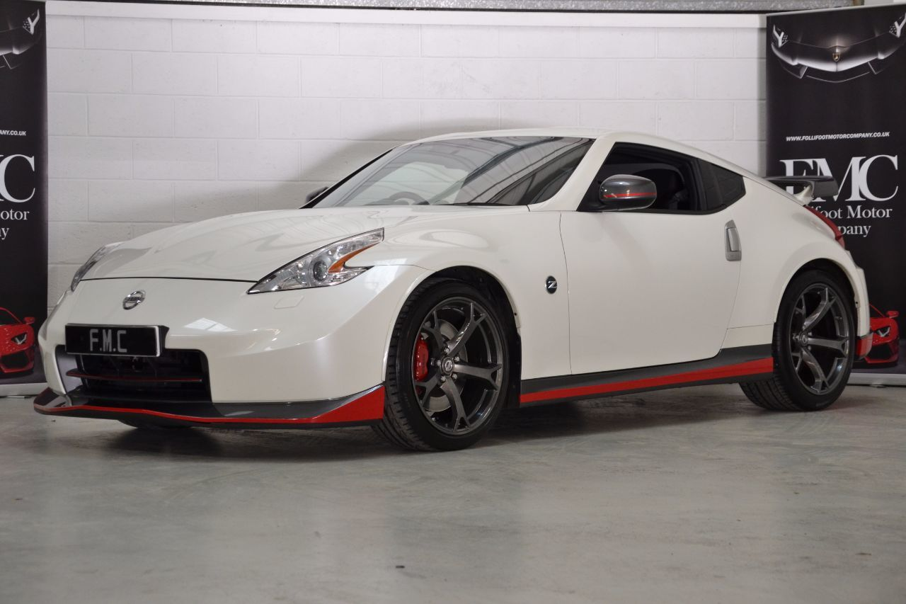 Nissan 370Z 3.7 V6 [344] Nismo 3dr Coupe Petrol White
