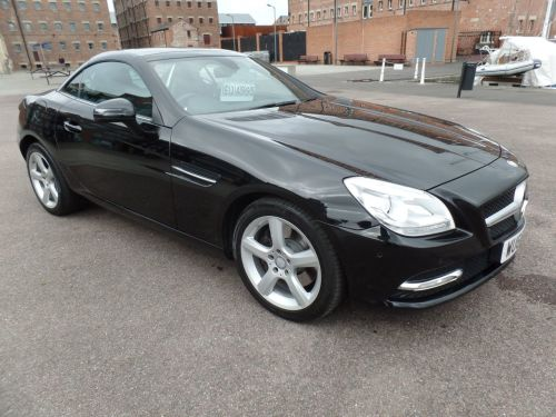 Mercedes-Benz SLK 2.1 SLK250 CDI BLUEEFFICIENCY Convertible Diesel Black