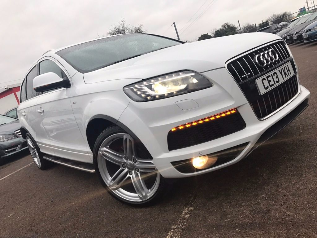 used audi q7 and second hand audi q7 in luton. Black Bedroom Furniture Sets. Home Design Ideas
