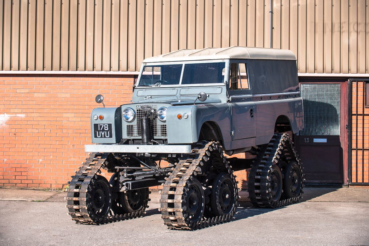 Land Rover Series II 2.3 1958 Cuthbertson Classic Commercial Petrol Grey
