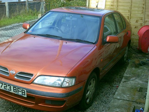 Nissan Primera 1.6 SI 16V Hatchback Petrol Orange