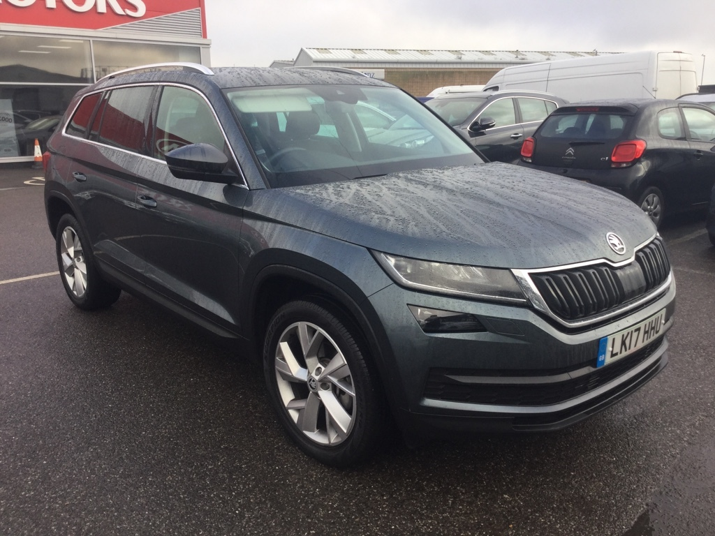 Skoda Kodiaq 2.0 EDITION TDI SCR DSG Estate Diesel grey
