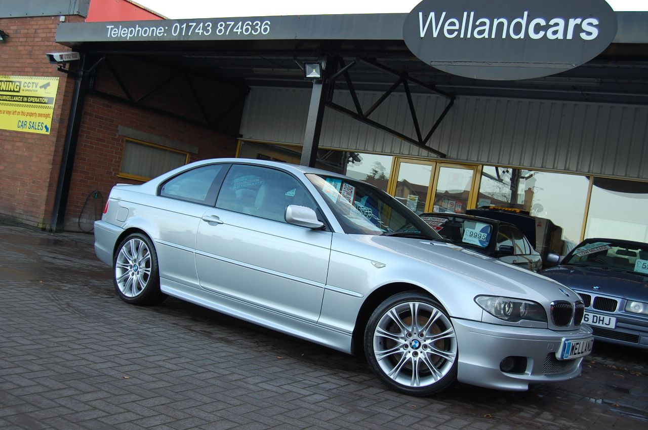 BMW 3 Series 3.0 330 Ci Sport 2dr Electric Leather Sport Seats Cruise Control FSH Coupe Petrol Silver at Welland Cars Shrewsbury