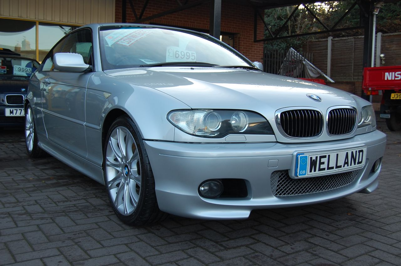 2004 BMW 3 Series 3.0 330 Ci Sport 2dr Electric Leather Sport Seats Cruise Control FSH