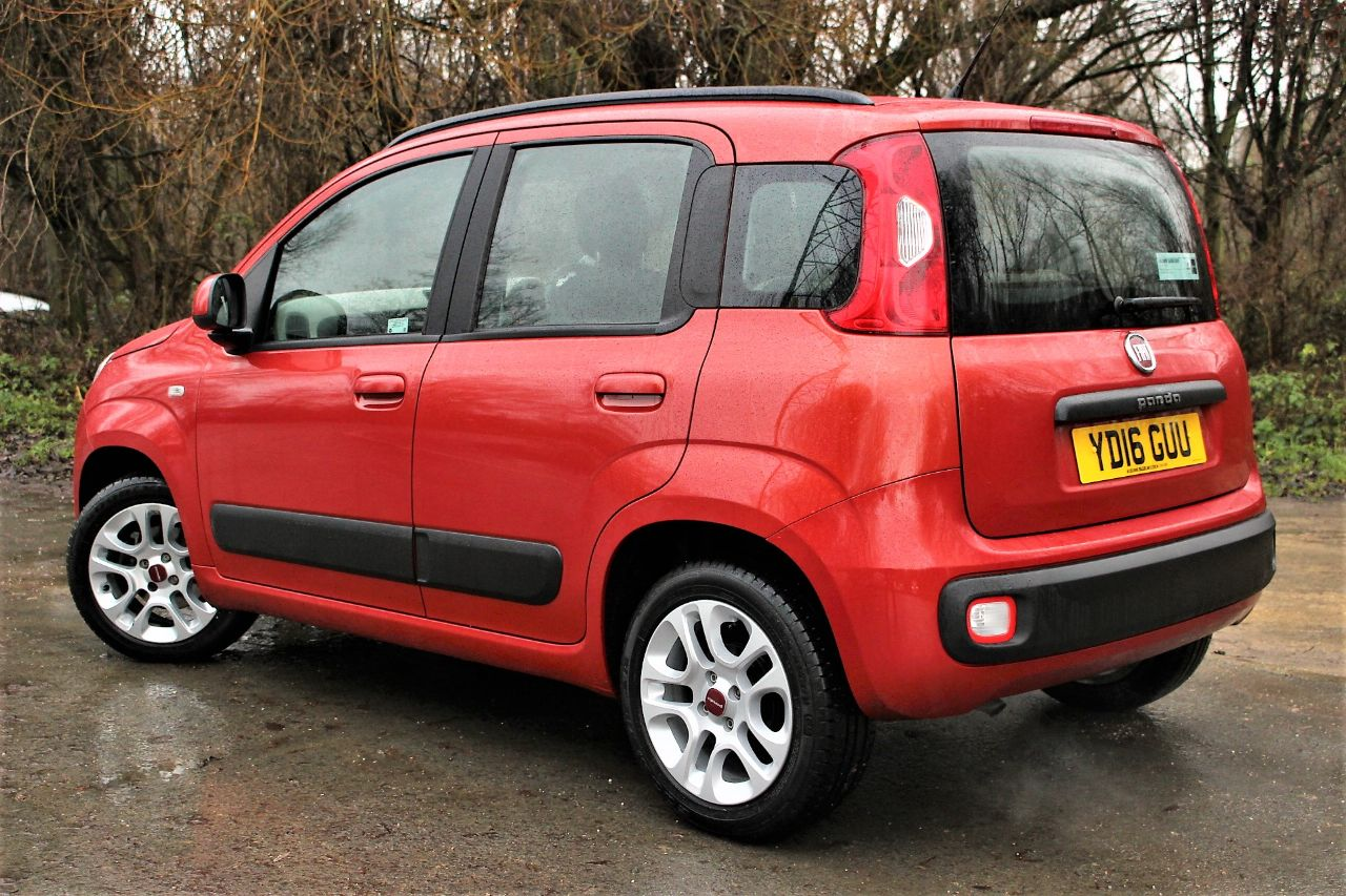 2016 Fiat Panda 1.2 Lounge 5dr AIR CON, BLUE TOOTH