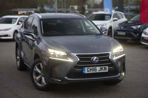 Lexus Nx 2.5 Premier Estate Petrol/Electric Hybrid grey