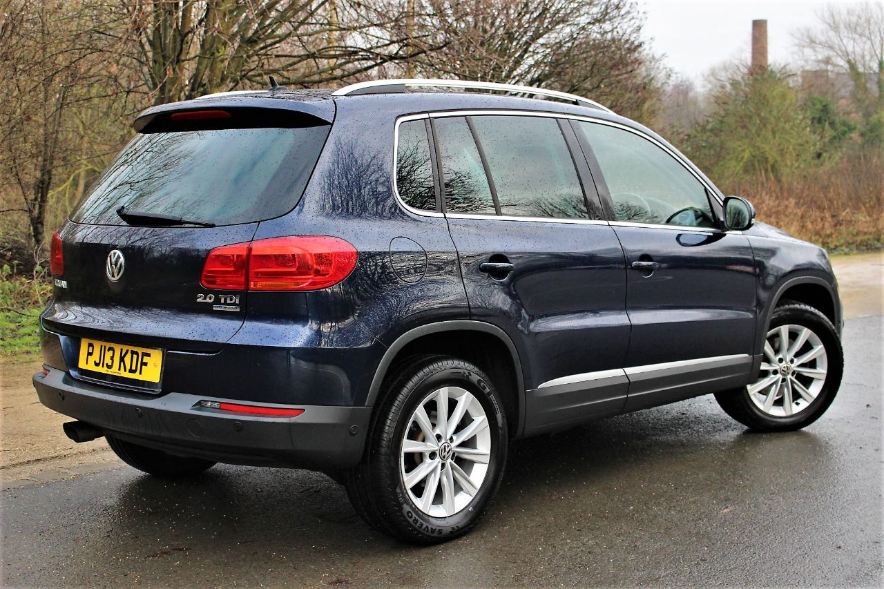 2013 Volkswagen Tiguan 2.0 TDi BlueMotion Tech SE 5dr [2WD], FRONT AND REAR SENSORS