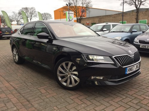Skoda Superb 2.0 LAURIN AND KLEMENT TDI DSG Hatchback Diesel black