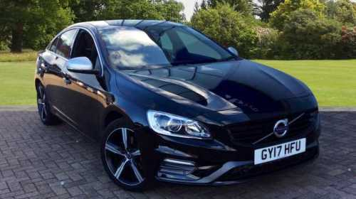 Volvo S60 2.0 D2 R-Design Nav Automatic, Park Assist Pilot, Winter Pack Saloon Diesel Black