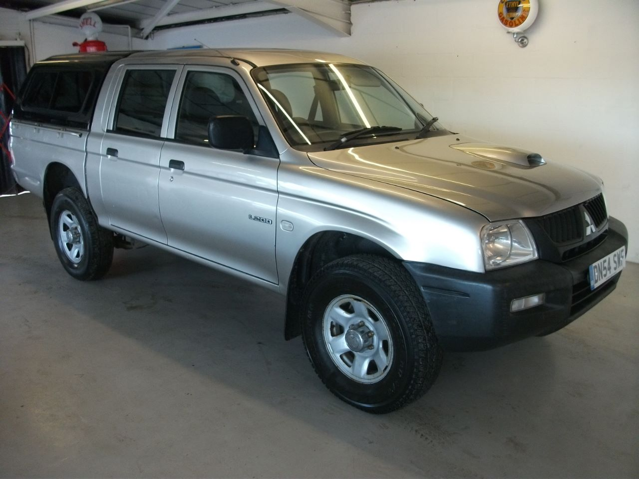 Mitsubishi L200 2.5 4work Pick-up Diesel Silver at Lido Garage Hartlepool