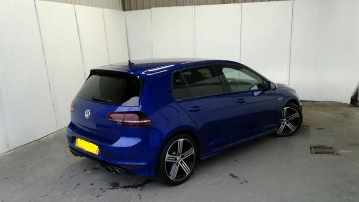 Volkswagen Golf 2.0 TSI R 5dr DSG 300ps 4x4 (WITH SAT NAV) 2016/65 plate Hatchback Petrol Lapis Blue