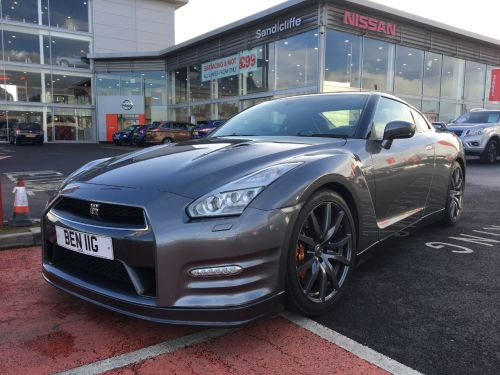 Nissan GT-R 3.8 [550] PREMIUM RECARO 2dr Auto + FULL NISSAN HISTORY + NISSAN WARRANTY + CAT 5 TRACKER Coupe Petrol Grey