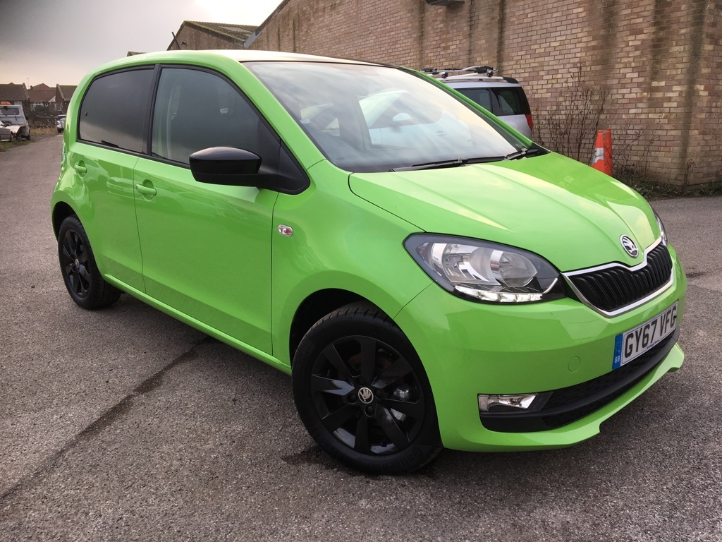Skoda Citigo 1.0 COLOUR EDITION MPI Petrol green
