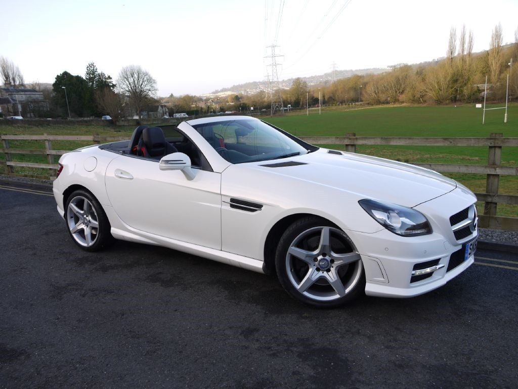 Mercedes-Benz SLK 2.1 SLK250 CDI BLUEEFFICIENCY AMG SPORT Convertible Diesel White