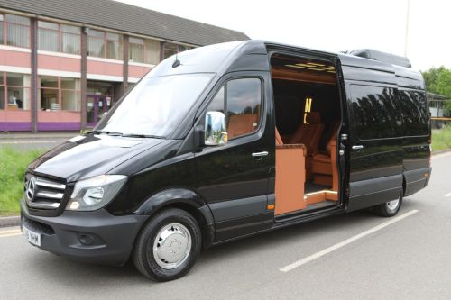 Mercedes-Benz Sprinter 2.1 313 JET LINER Estate Diesel Black