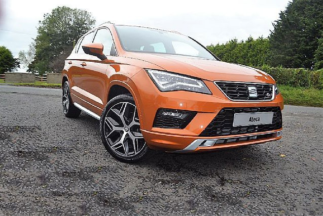 Seat Ateca 2.0 TSI FR Hatchback Petrol ORANGE