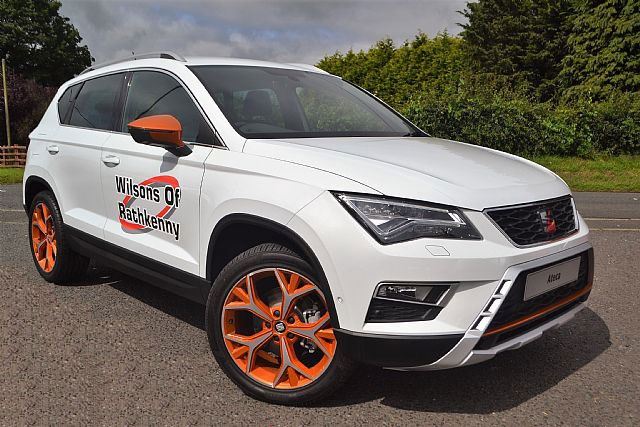 Seat Ateca 2.0 TDI 4DRIVE XCELLENCE Hatchback Diesel White