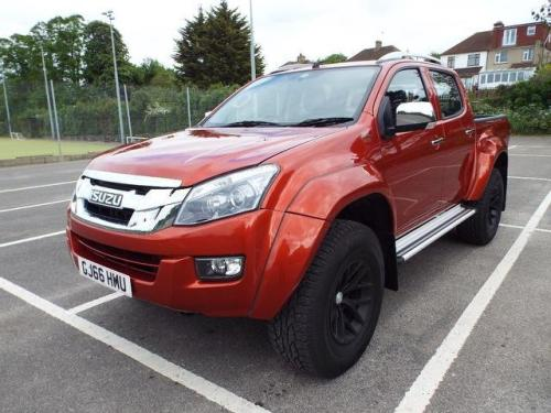 Isuzu D-Max 2.5 TD ARCTIC TRUCKS AT35 DCB Pick Up Diesel RED