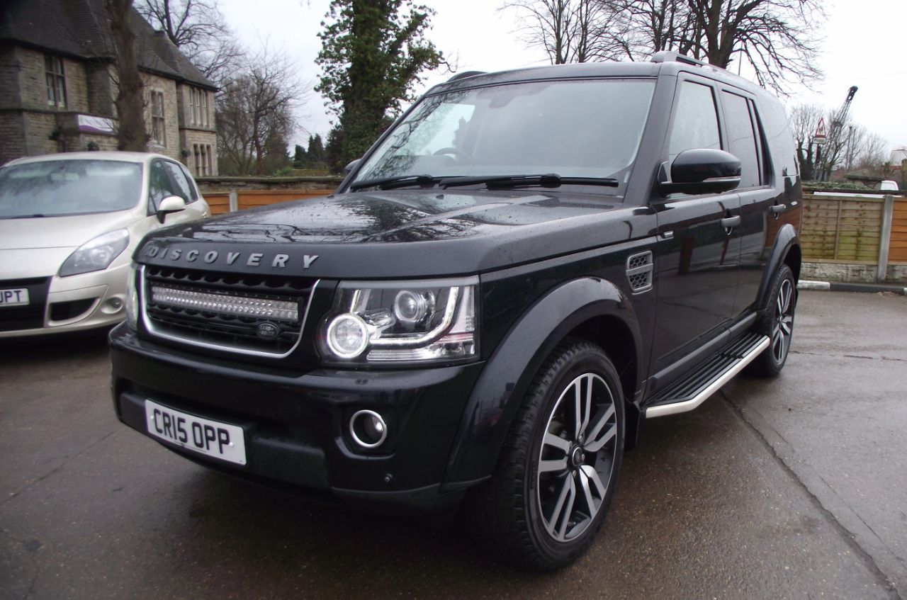 Land Rover Discovery 3.0 Commercial XS Sd V6 Auto Four Wheel Drive Diesel Black