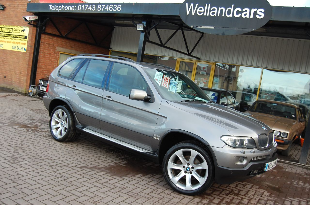 BMW X5 2006 BMW X5 3.0D M SPORT # RARE MANUAL # GREY BLACK LEATHER NAV TV 4WD F/S/H Estate Diesel Grey at Welland Cars Shrewsbury