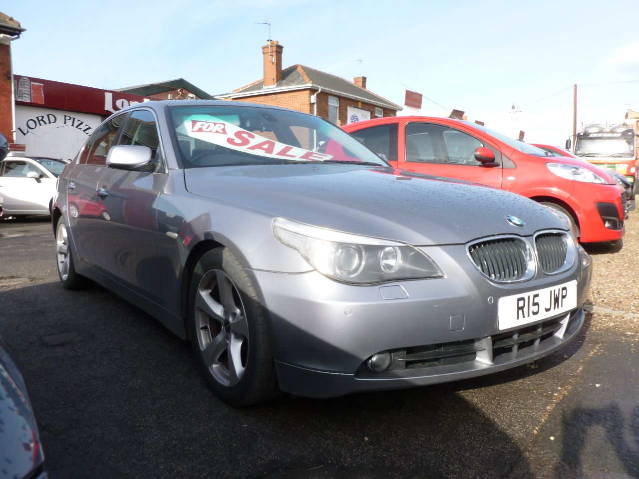 BMW 5 Series 2.5 525i SE 4dr Auto Saloon Petrol Grey at AJM Autos Leeds Leeds