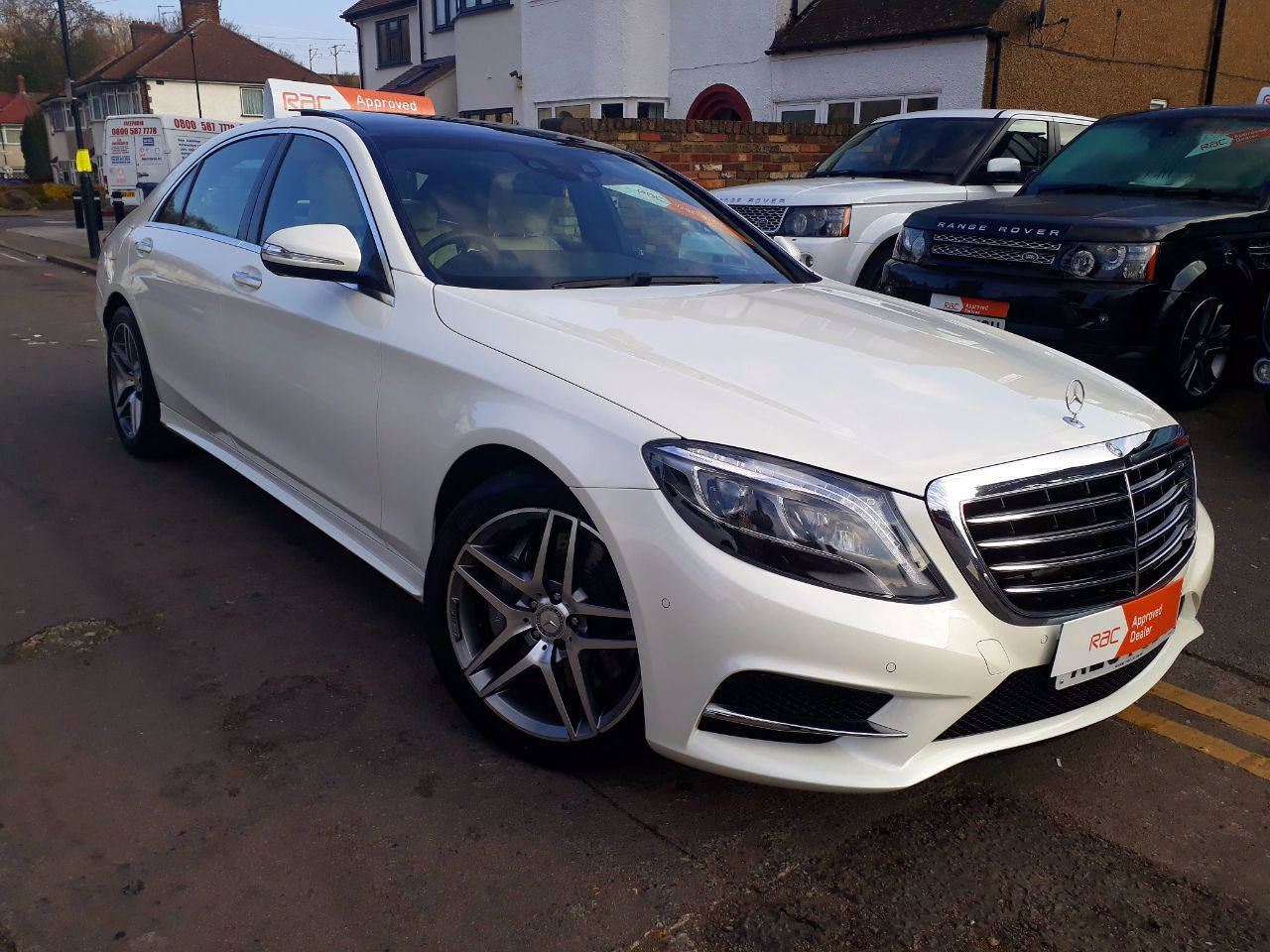 Used mercedes benz s class and second hand mercedes benz s for Mercedes benz uk used