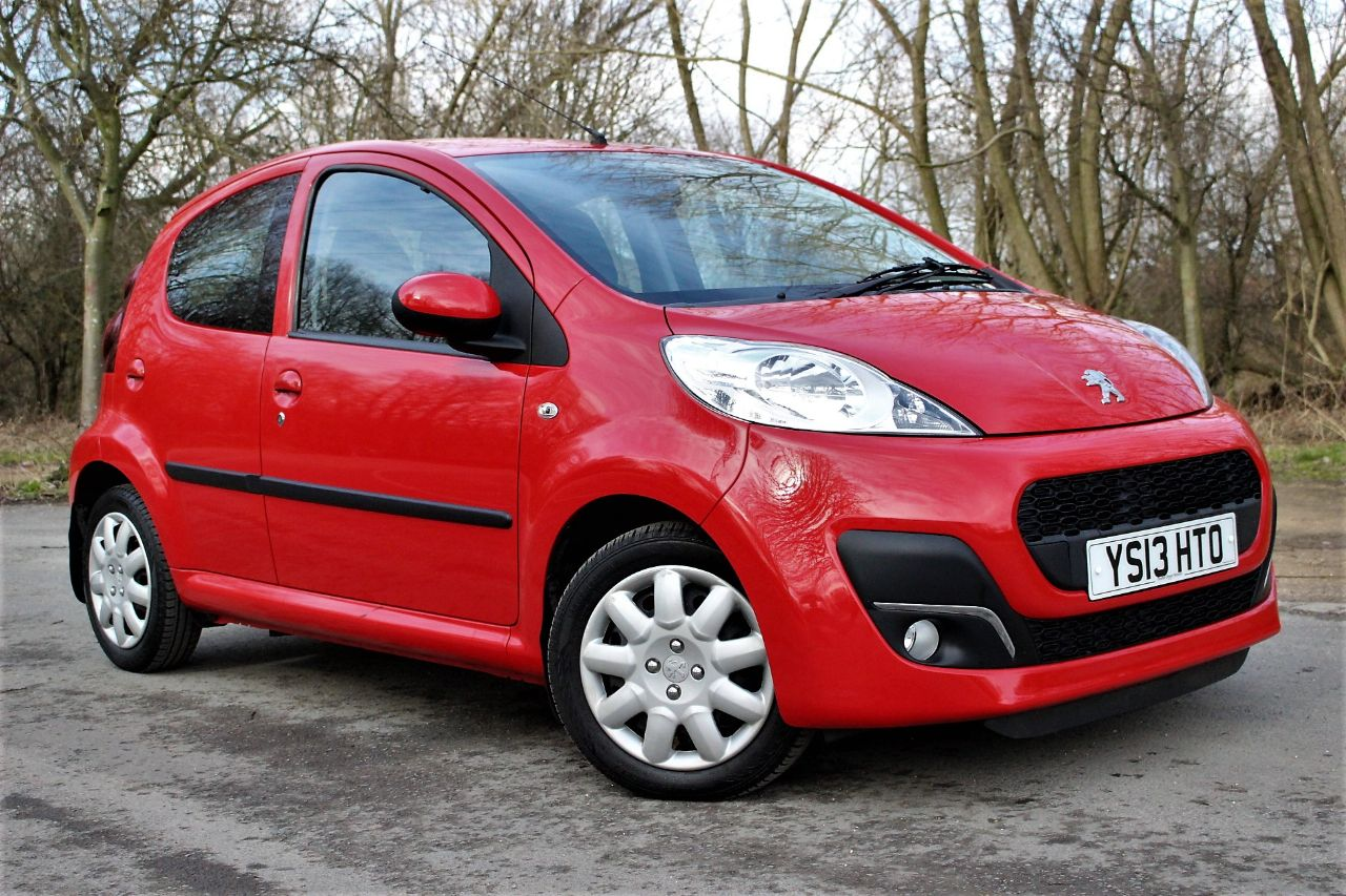 2013 Peugeot 107 1.0 Active 5dr 2-Tronic, AIR CON, £20 TO TAX