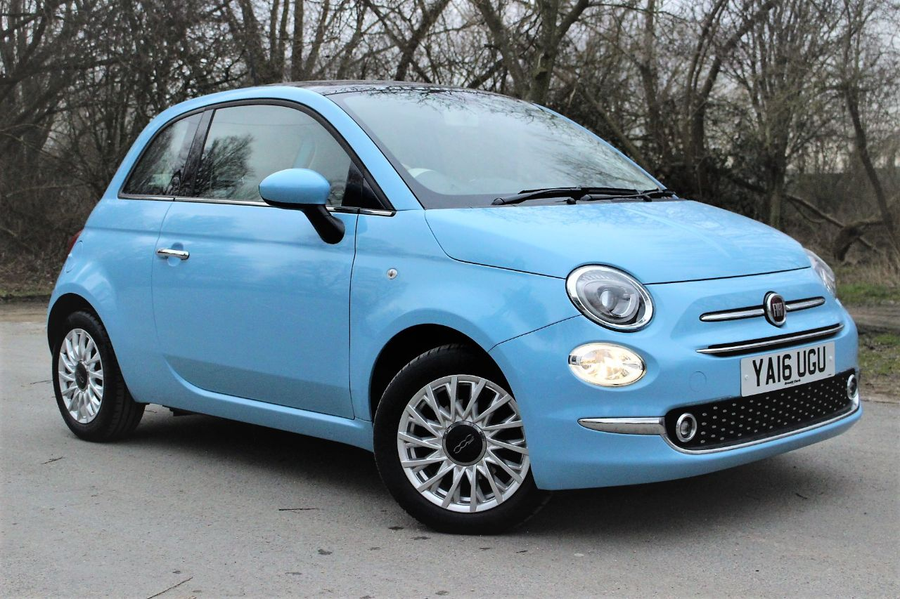 2016 Fiat 500 1.2 Lounge 3dr, PAN ROOF, AIR CON