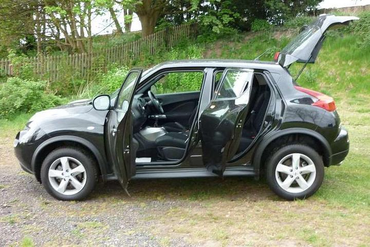 used nissan juke 1 5td visia for sale in warwick. Black Bedroom Furniture Sets. Home Design Ideas