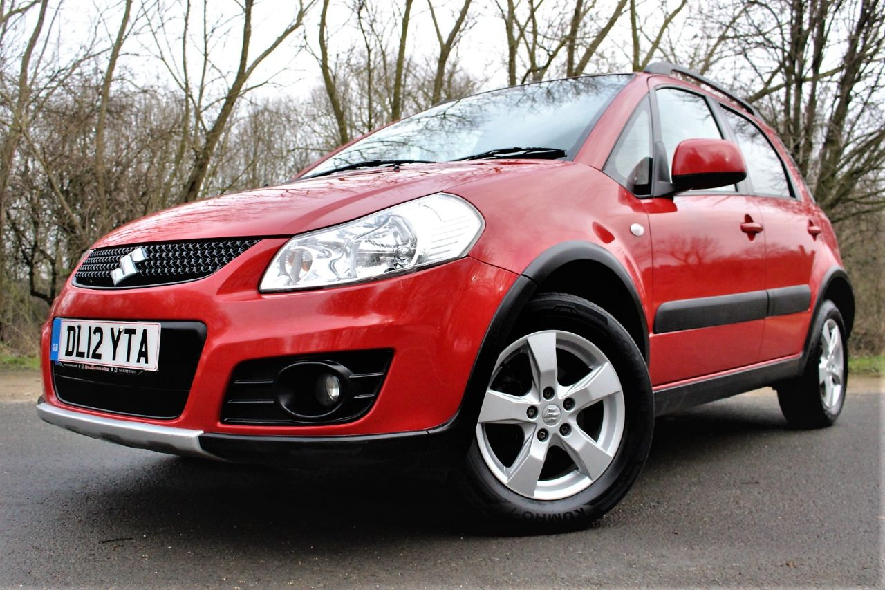 2012 Suzuki SX4 1.6 SZ5 4X4 5dr AIR CON, KEY-LESS ENTRY