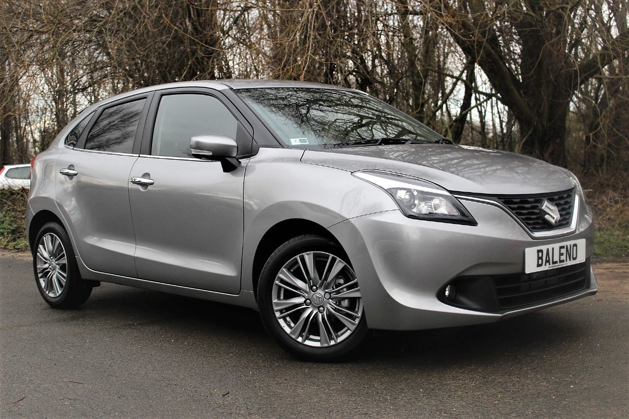 Suzuki Baleno 1.0 Boosterjet SZ5 5dr Auto, GREAT SAVING ON NEW Hatchback Petrol Premium Silver metallic